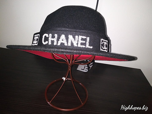 Black Red Bottom With Chanel Band