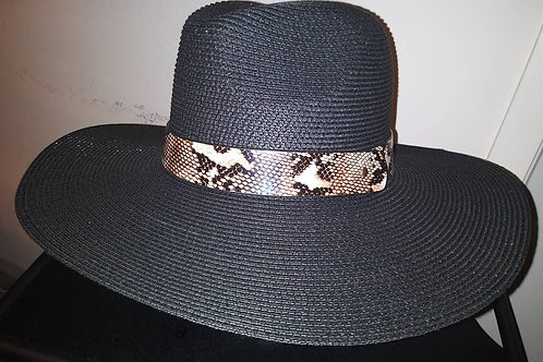 Twill Fedora With Snake Band