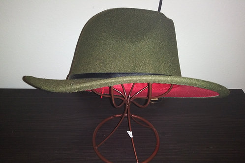 Olive Green Red Bottom
