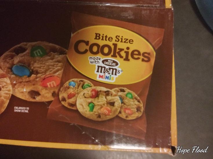 Bite Size M&M Cookies