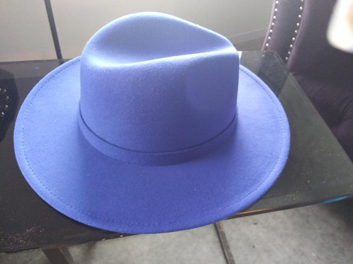 Royal Blue Fedora