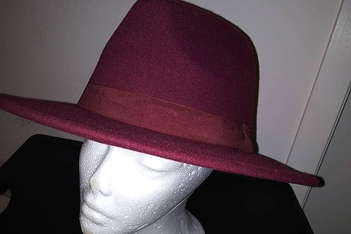Classic Fedora With Satin Band