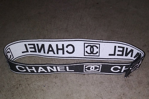 Black and White Chanel Band