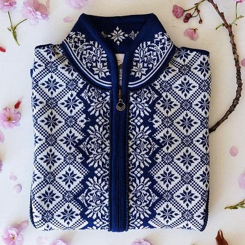 Dale of Norway cardigan/jacket CHRISTIANIA blue