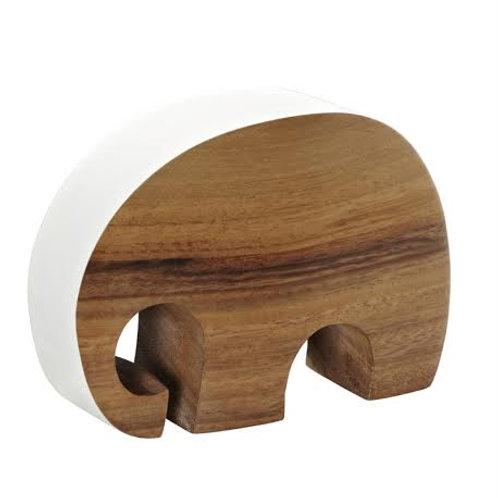 Just ELEPHANT wood | white L
