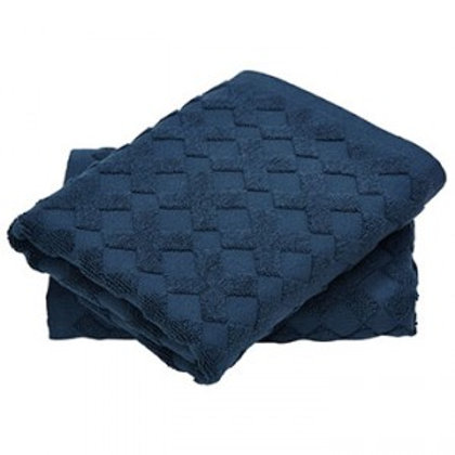 MD guest towel CROSS navy