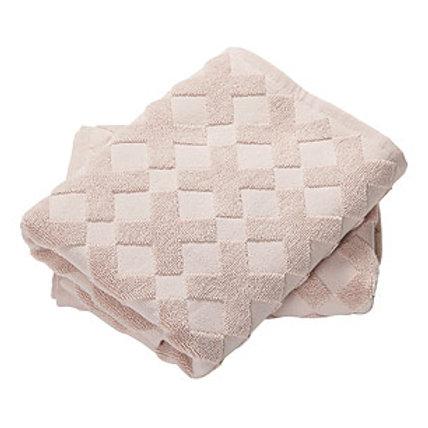 MD bath towel CROSS  nude