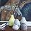 Thumbnail: Kähler BOTANICA mini vase ochre