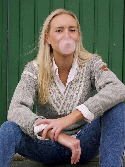 Dale of Norway sweater ALPINA grey