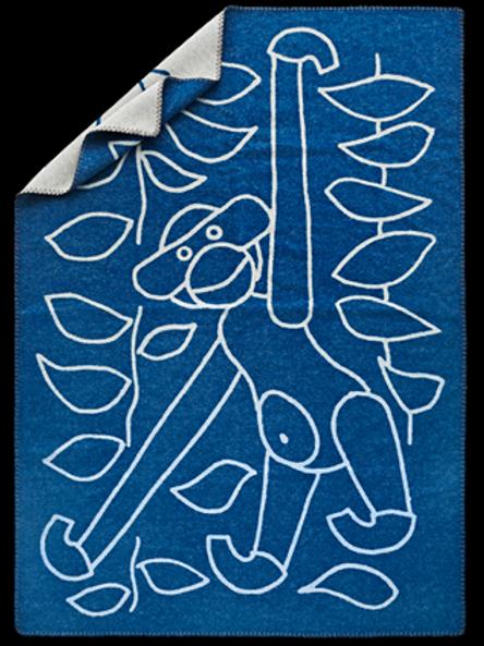KAY BOJESEN blanket | blue