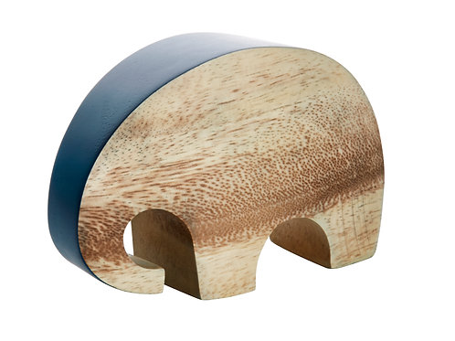 Just ELEPHANT wood | denim blue S