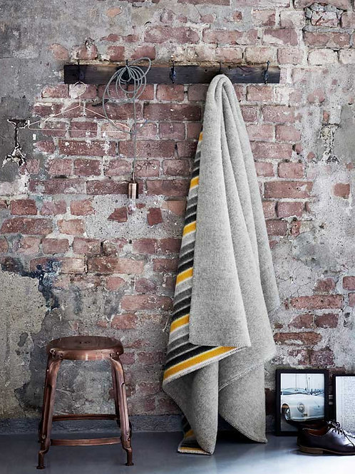 Roros blanket KONFETTI grey/grey