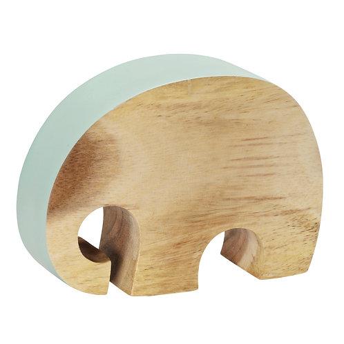 Just ELEPHANT wood | mineral blue L