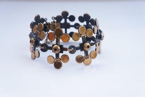 Bronze bracelet KARELIAN FLOWER