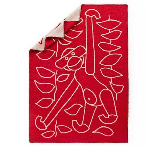 KAY BOJESEN blanket | red