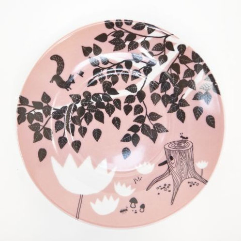 House of Rym HATS OFF FOR MR SQUIRREL plate