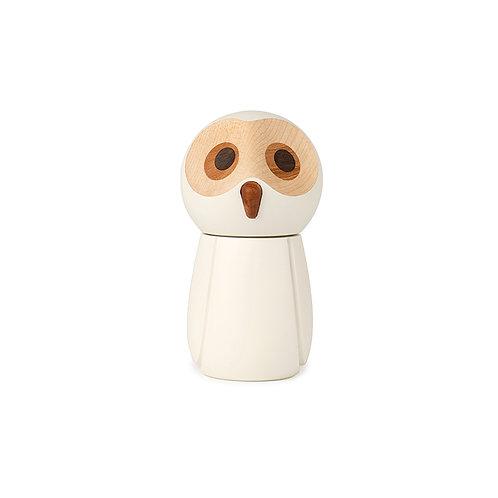 SNOWY OWL | salt grinder