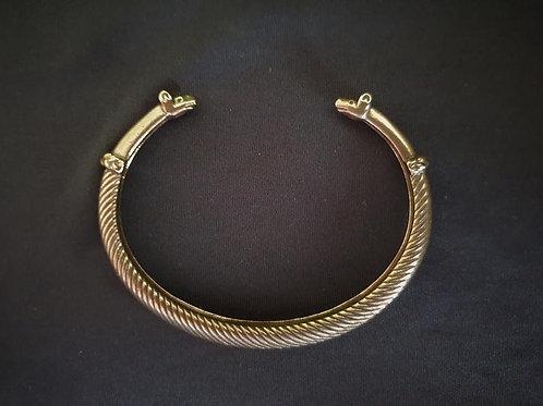 Bronze bracelet HIRVENPÄÄ (moose head)