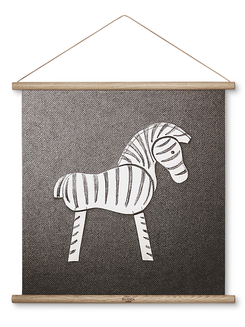 KAY BOJESEN zebra illustration