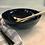 Thumbnail: Metallic blue salad bowl