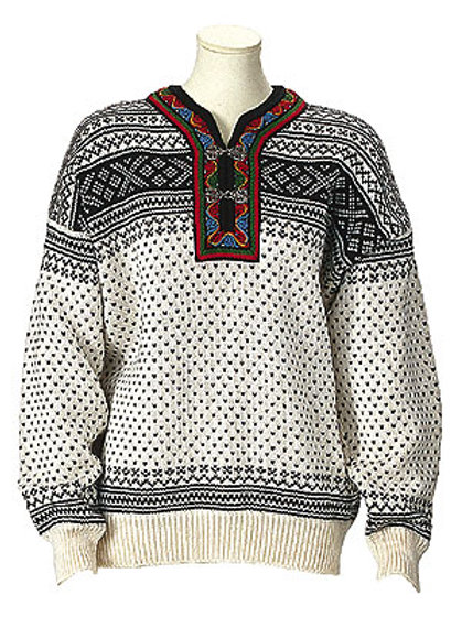 Dale of Norway sweater SETESDAL off-white