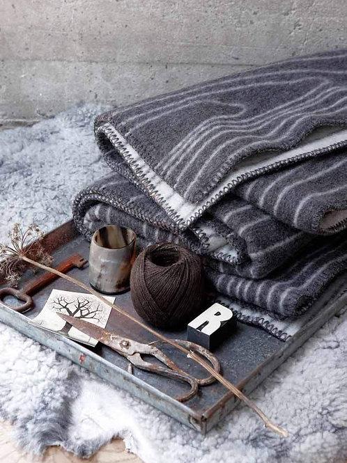 ROROS blanket SKOG grey