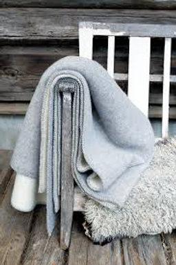Roros blanket STEMOR grey