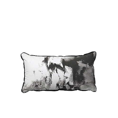 Broste Cph cushion SILKE peat