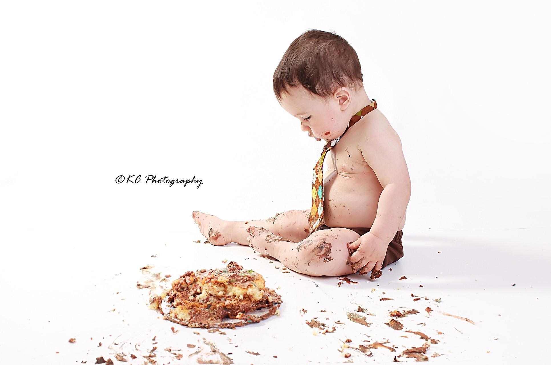Cake Smash Bracebridge Muskoka Photo