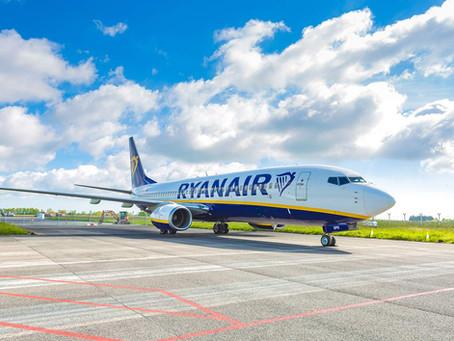 VÝPRODEJ Ryanairu od 274 Kč