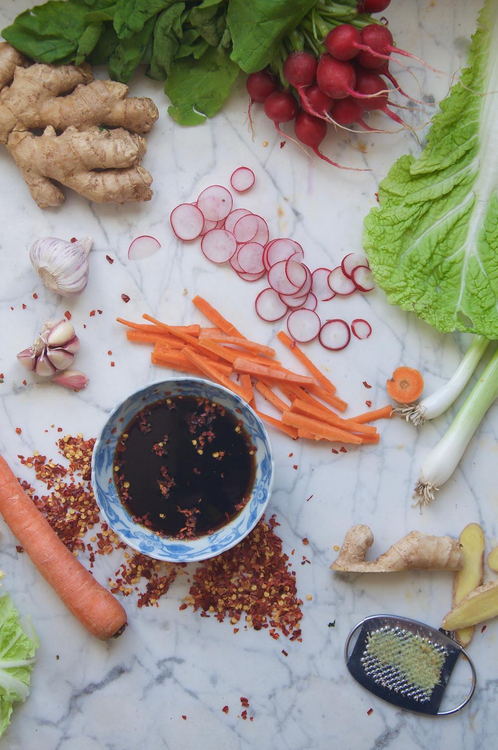 Quick Vegan Kimchi