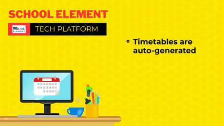 Time-Table Made Easy With School Element