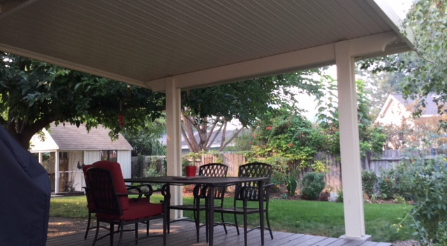 Flat Panel Un-insulated Patio Cover