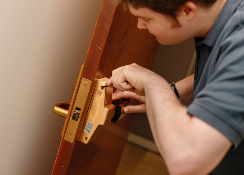 Locksmith, Rekeying, Lockouts, Safe Work, Master Key Systems, Installation And Services, Access Control, Push Button Locks, Electronic Locks, Door Closers, Decorative Door Hardware, Panic And Exit Devices, High Security Locks