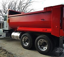 Truck Equipment, Dump Body, Pup Trailer, Material Hauling, Demolition Body, Demolition Box, Asphalt Body, Dump Body, Free Quote, Rock Box, Professional Welders