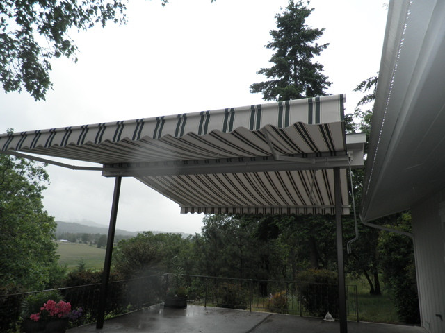 Retractable Awning Doubled