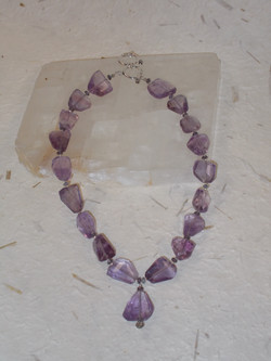 Faceted Amethyst Nuggets