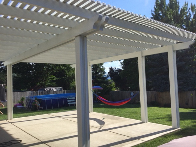 Pergola built in Medford Oregon