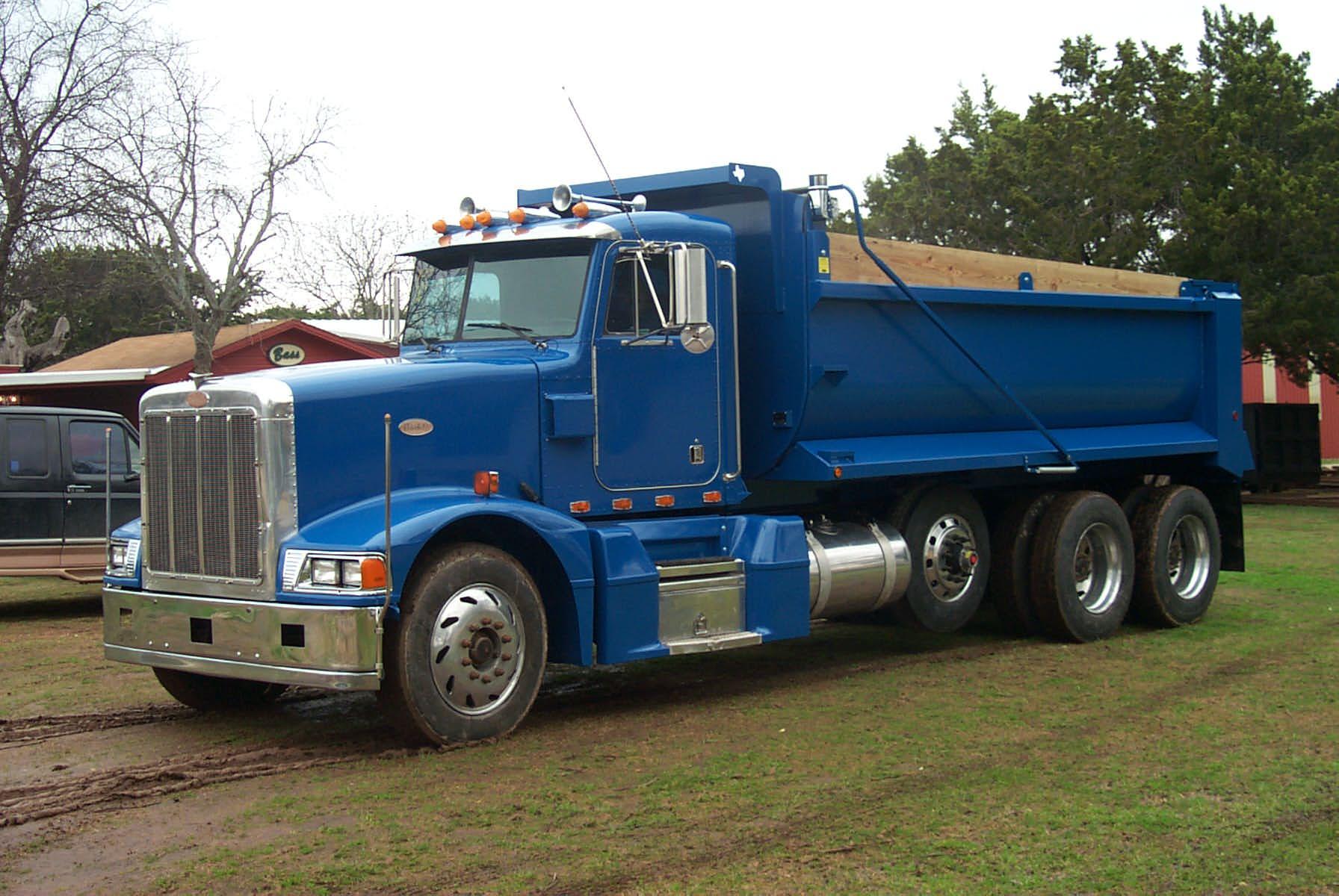Truck Equipment, Material Hauling