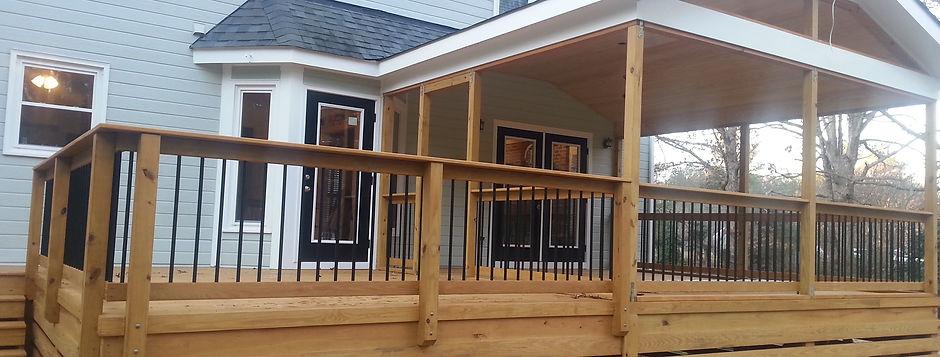Decks in Raleigh, Screened porch, Sunroom construction, Trex decking, Custom Decks, Screen Enclosures, Covered Porches, Gazebo Construction