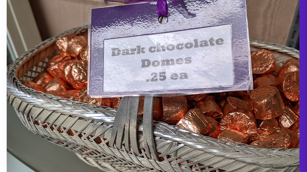 Dark Chocolate Domes