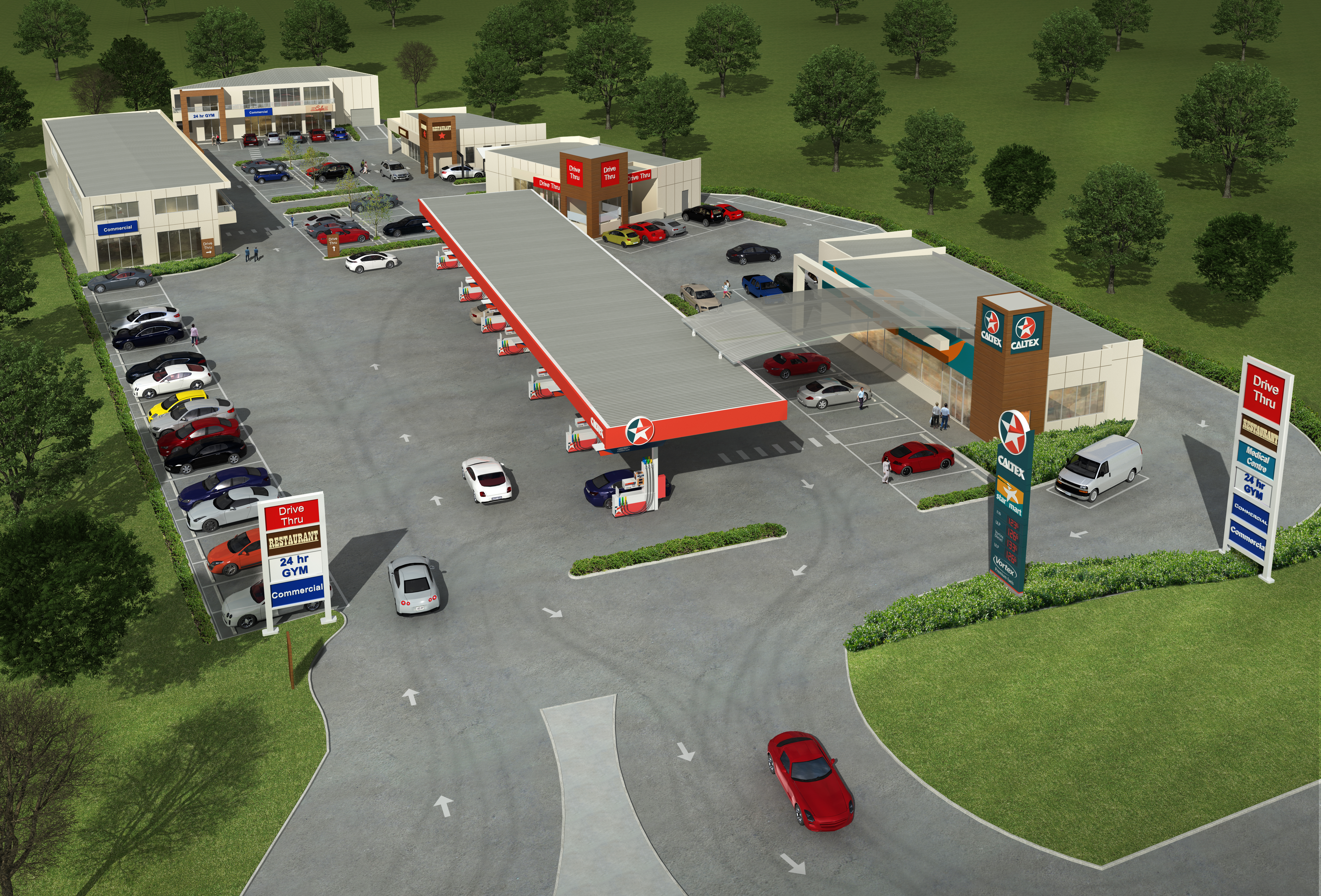 Edmondson Park Petrol Station