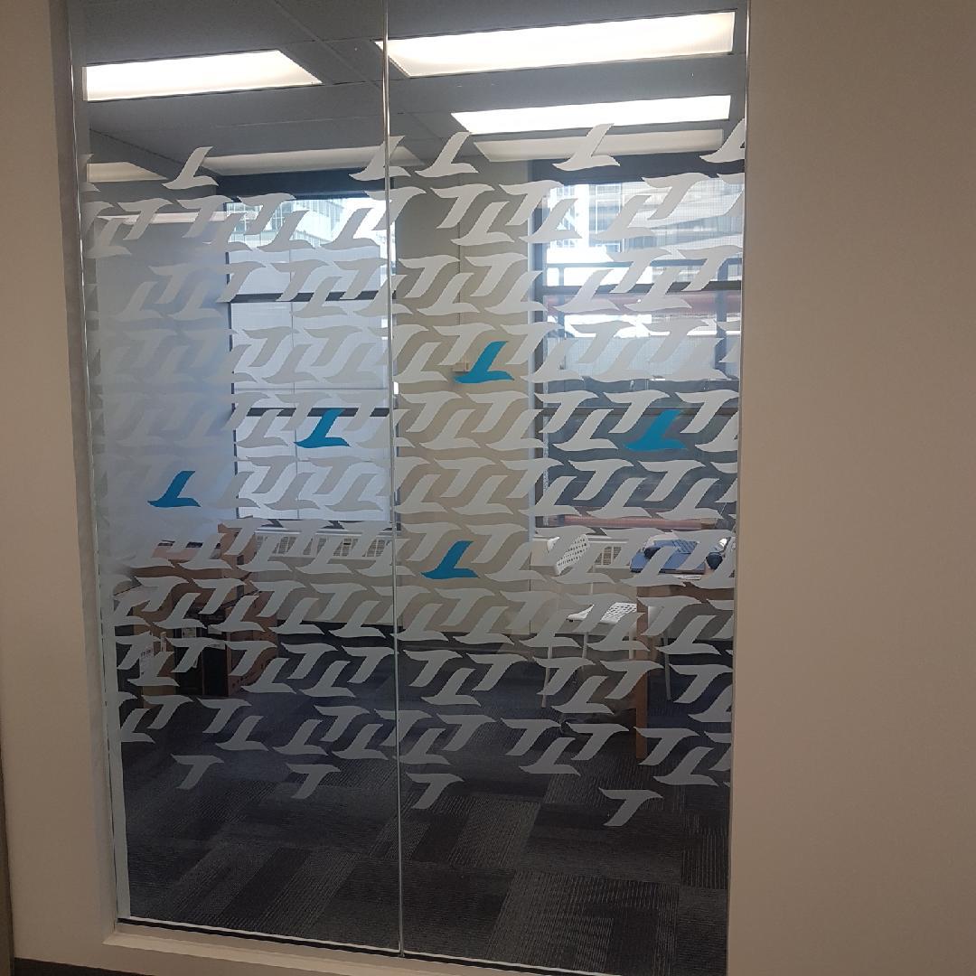 Patterned Window Frost