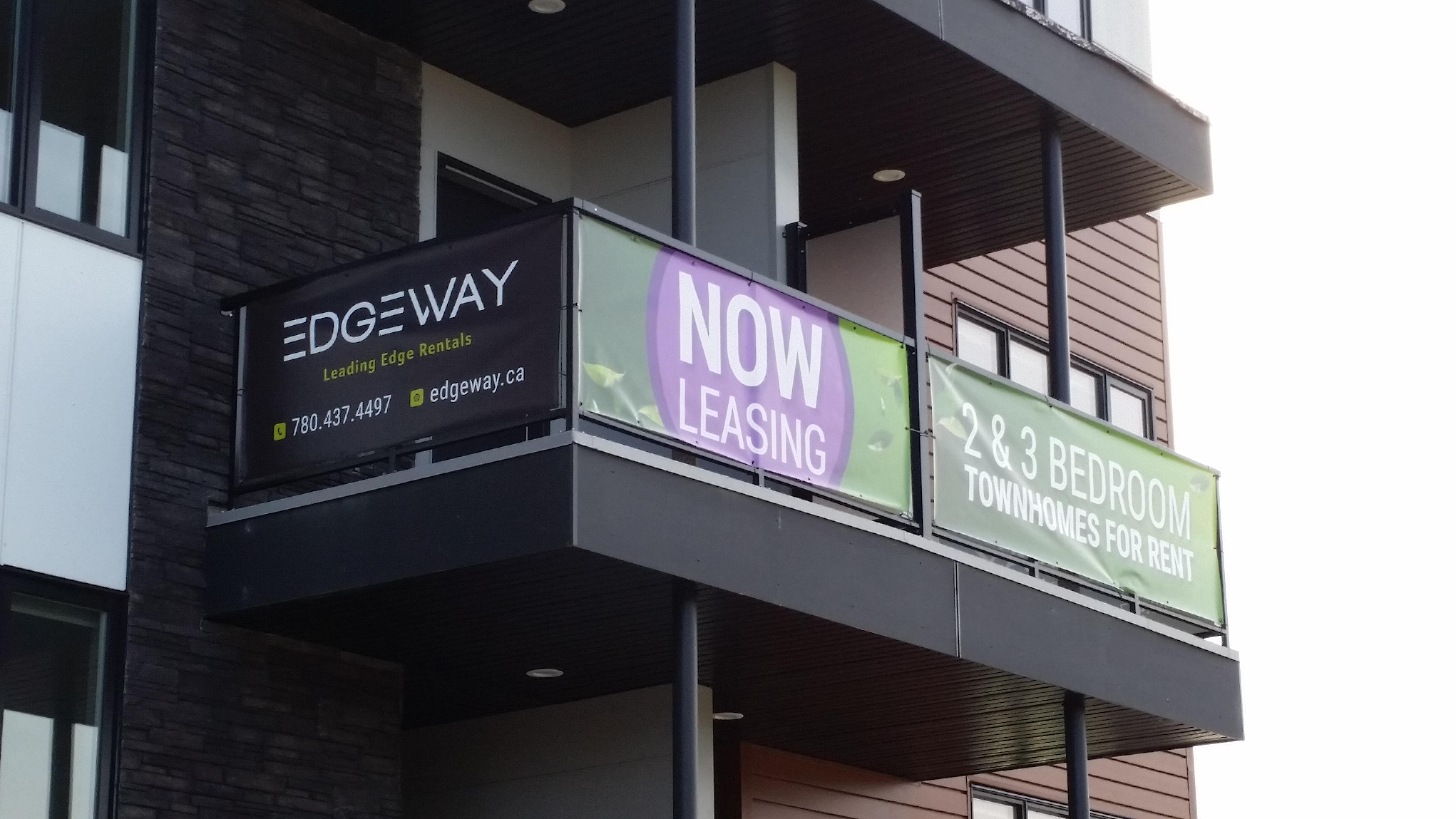Banners - Balcony