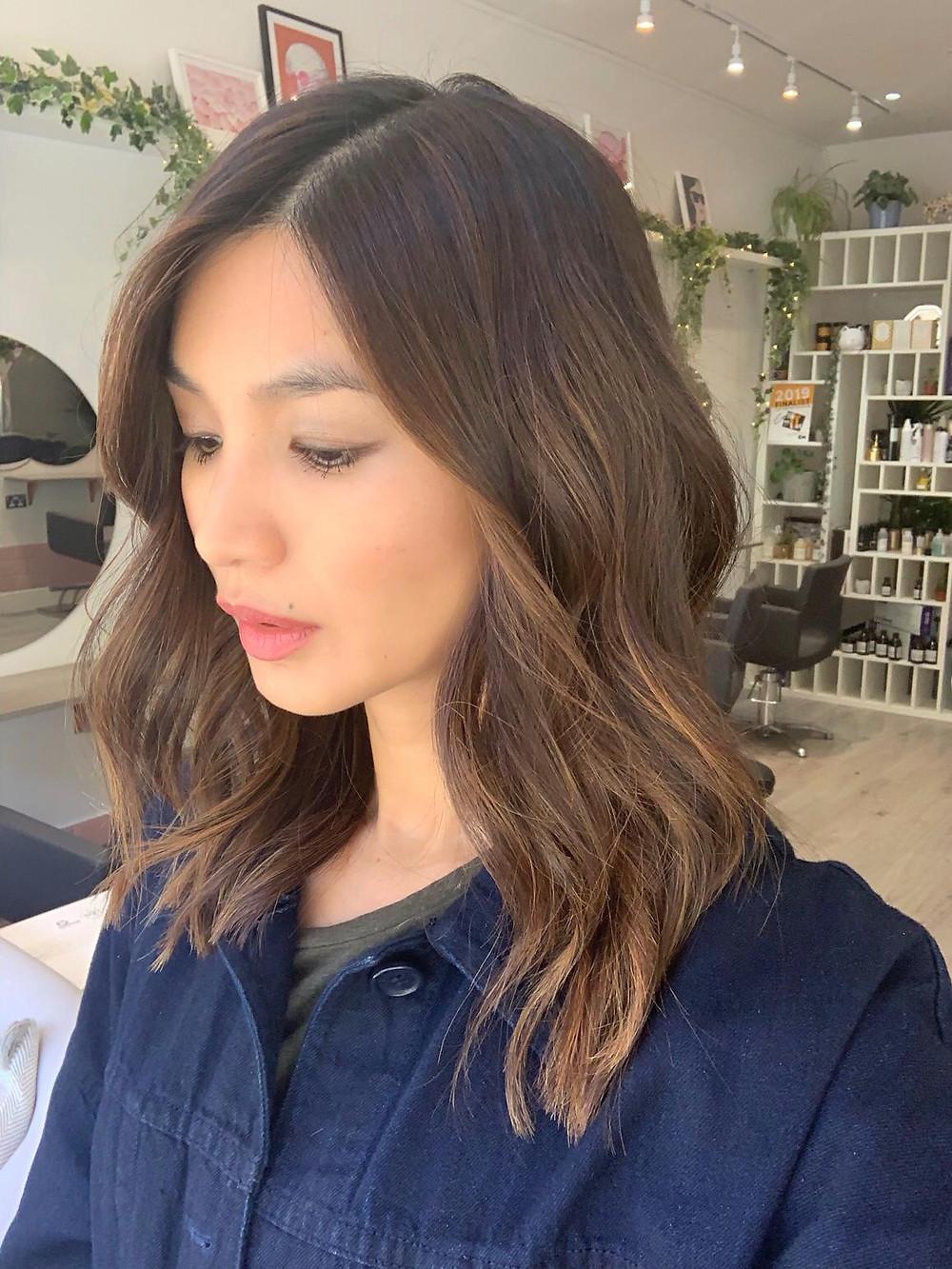 Gemma Chan Hair Colour