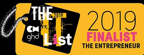 THE IT LIST 2019_FINALIST LOGO_THE ENTRE