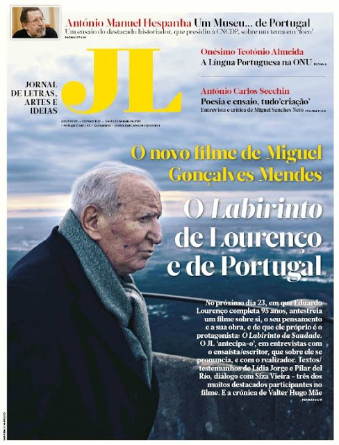 2018 / Photography: cover of JL (Portugal)