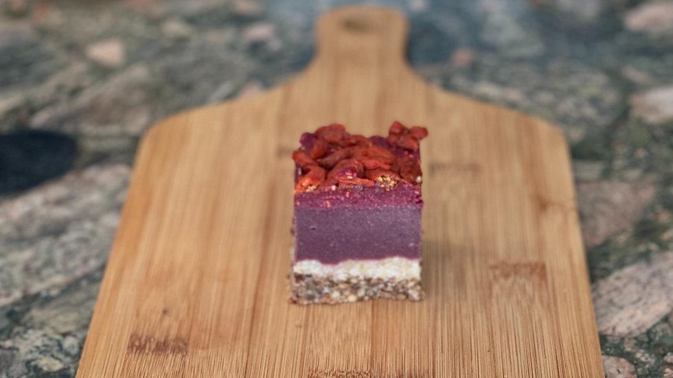 6 pack Acai raw cheesecake