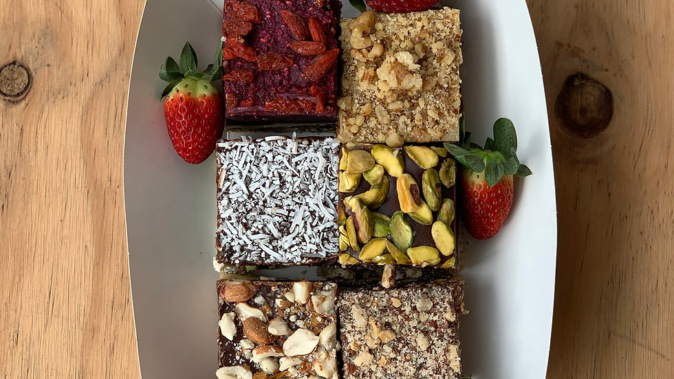 Raw Cake Assorted 6 pack
