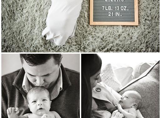 Maryland Newborn Photographer // Baby Max